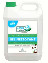 Gel nettoyant coco   - ACTION VERTE - PROVEN - 5L - Ecolabel