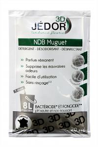 Détergent Désinfectant Désodorisant JEDOR NDB 3D - Dosette
