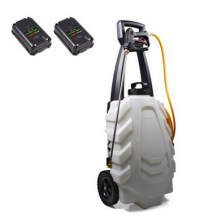 Pulvérisateur électrique - SAMOURAÏ -  sur chariot - 30L - DEWITTE