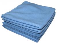 Sachet 5 x Tricot Luxe 32x30 cm bleu - DE WITTE