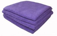 Sachet 5 x Tricot Soft 40 x 40 cm violette - DE WITTE