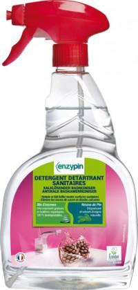 Détergent détartrant sanitaires ENZYPIN - LE VRAI Professionnel - 750mL - Ecolabel