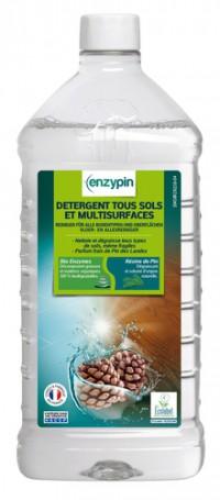 Détergent tous sols & multi-surfaces ENZYPIN - LE VRAI Professionnel - 1L - Ecolabel