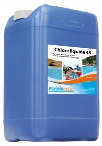 Chlore liquide 48° CHL - HYDRAPRO - 20L