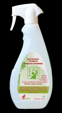 Nettoyant vitres & surfaces IDEGREEN - 750ml - Ecolabel