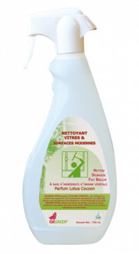 Nettoyant Vitres et Surfaces MODERNE - IDEGREEN - 750mL - Ecolabel