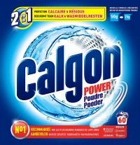 Poudre anti-calcaire 2 en 1 - CALGON - 1.3Kg