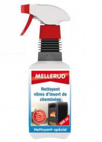 Nettoyant vitres d'insert de cheminées - MELLERUD - 500ML