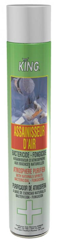 Purificateur d'air et désinfectant surfaces menthe KING - 750 ml