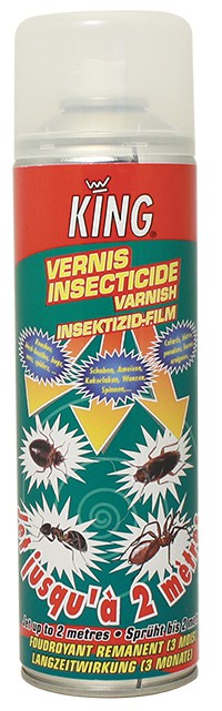 Insecticide vernis caffards KING 500ML - SICO