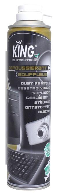 Dépoussiérant souffleur KING - 237 grs ( 204 ml ) - SOUFFL'AIR