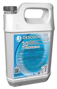 3D Détergent désinfectant surodorant Douceur des Alpes U2 - 5 L