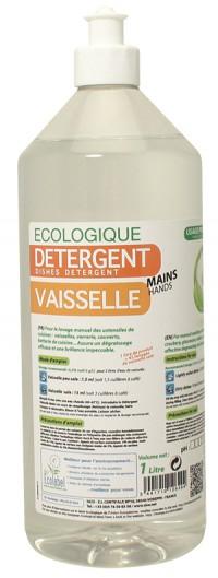 Détergent vaisselle main - KING - 1L - Ecolabel