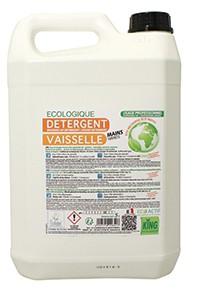 Détergent vaisselle main - KING - 5L - Ecolabel