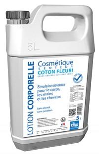 Lotion corporelle coton fleuri KING 5L - SICO