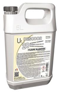 2D Détergent surodorant Fleurs blanches U2 - 5 L SICO