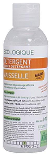 OFFRE EXCEPTIONEL - LOT DE 12 - Détergent vaisselle main - KING - 100mL - Ecolabel