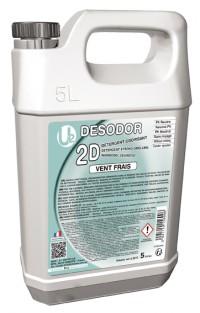2D Détergent surodorant Vent frais U2 - 5 L SICO