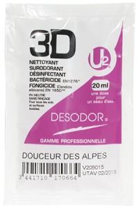 Dose 3D DESODOR  Douceur des Alpes U2 - 20 ml