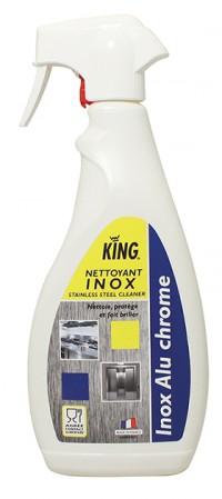 Nettoyant inox alimentaire - KING - 750ml
