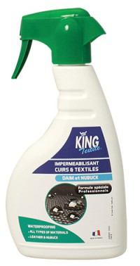 Imperméabilisant cuir et textiles -  500ml - KING -