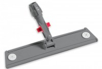 Support frange pastilles rondes velcro système lock - 60cm