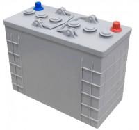 Jeu de 4 batteries gel 6V 240Ah - CLEANFIX