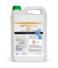 NETTOYOR / DUOSOL 3D - 5L