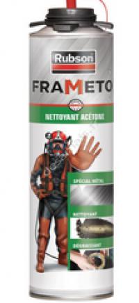 Nettoyant acétone - FRAMETO - 500ML