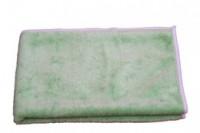 Carre microfibre tricot class vert 40x40