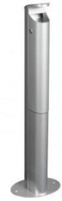 Cendrier 2.5l/pieds koa gris metal
