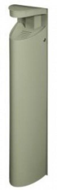 Cendrier 6l /pieds koa gris ciment