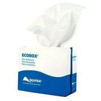 Chiffons non-tissés blanc en Ecobox - MP HYGIENE - 100 unités