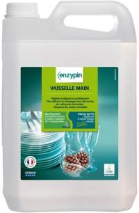 Liquide vaisselle ENZYPIN - LE VRAI Professionnel - 5L - Ecolabel
