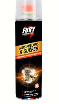 FURY - Mousse nids guêpes et frelons - 500ML