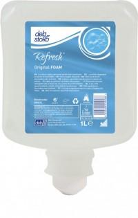 Mousse lavante DEB Refresh original FOAM - 1L - Savon PUR MOUSSE