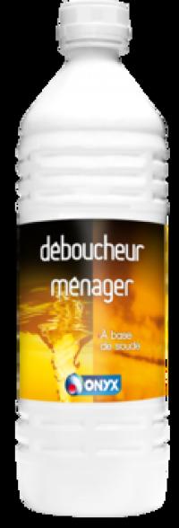 Déboucheur ménager Soude et Ammoniaque - ONYX - 1L