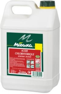 Acide chlorhydrique - MIEUXA - 5L