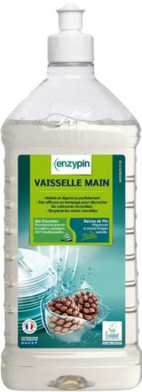 Liquide vaisselle ENZYPIN - LE VRAI Professionnel - 1L - Ecolabel