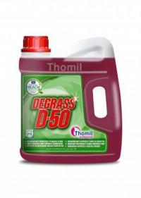 Dégraissant pour surfaces et plaques chauffantes - THOMIL Dégrass D-50 - 4.5L