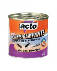 Insecticide fumigène volants/rampants - ACTO - 150m3