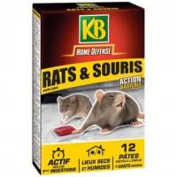 Pâte rat souris - Home defense - KB
