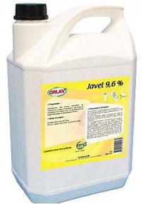 Eau de Javel concentrée 9.6% - ORLAV - 5L