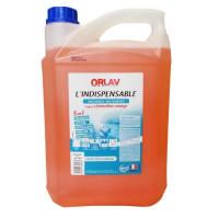 Nettoyant ORLAV L'indispensable 5 en 1- Multi-Usages – Multi-Surfaces - 5L