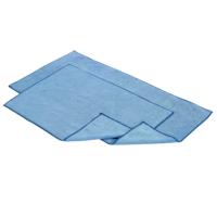Serpillère microfibres bleue - LAMATEX - 40x80cm