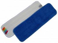 Frange velcro microfibre bleu - DE-WITTE