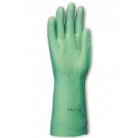 Gants Nitrile vert floqué coton - SINGER