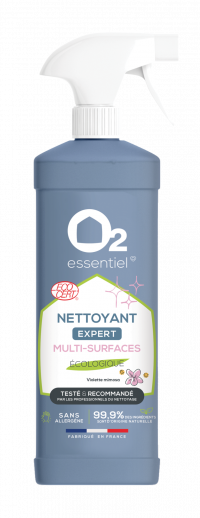 O2 ESSENTIEL-Nettoyant multi- surfaces EXPERT-ECOCERT-500ml