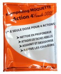 Shampoing moquette ACTION 4 - CLEANFIX - 4x25