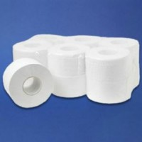 Papier toilette mini jumbo pure ouate. pack de 12